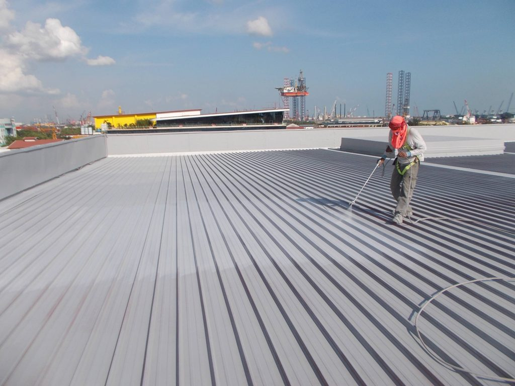 roof tile coating singapore