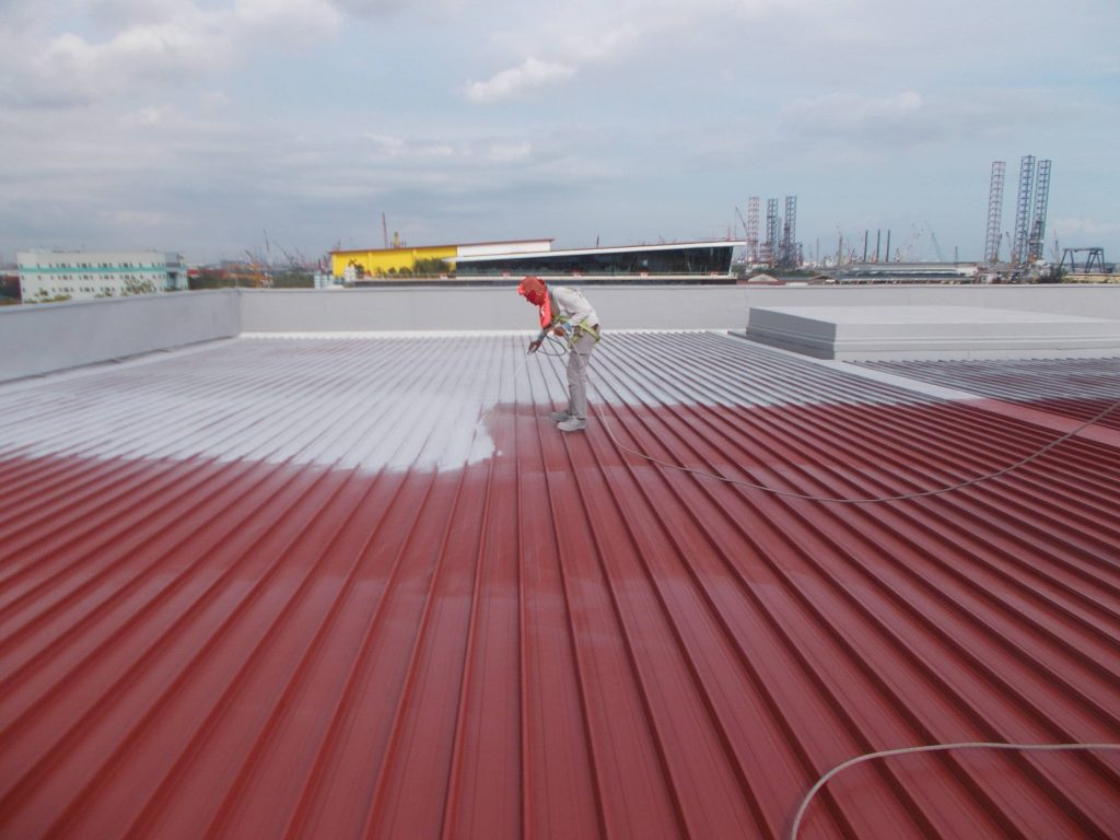 roof tile coating