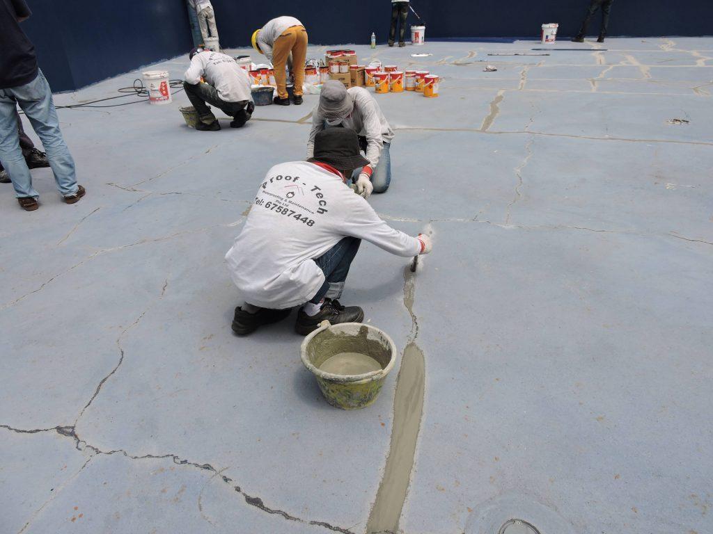 Waterproofing Prooftech Waterproofing Amp Maintenance Pte Ltd