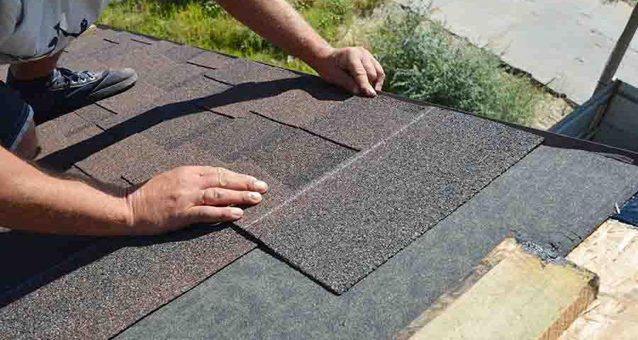 waterproofing company performing roof replacement works